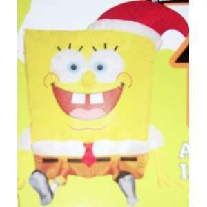 4ft Lighted Gemmy Airblown Inflatable Christmas Spongebob
