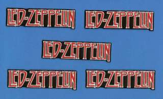 Lot Led Zeppelin Rock Band Iron On Patches Crests