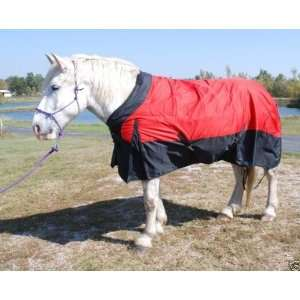 Ultimate Draft Horse 90 turnout blanket RED Sports