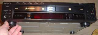 Sony RCD W500C Compact Disc Recorder Player RCD W 500 C CD Manual
