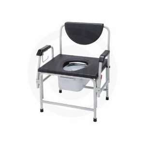 Drive Bariatric Extra Large Drop Arm Commode Health