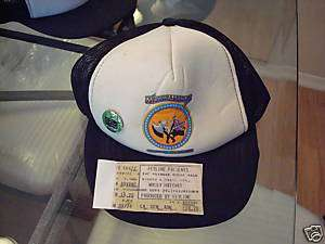 MOLLY HATCHET TOUR hat cap VINTAGE 1980S 9/29/83