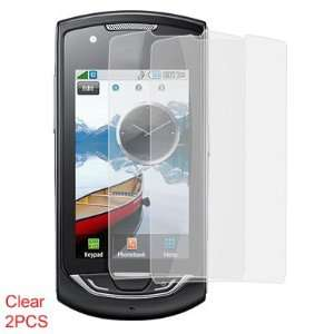 Gino 2 Pcs Dustproof Clear LCD Screen Guard for Samsung