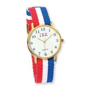 Jacqueline Kennedy American Flag Watch Jewelry