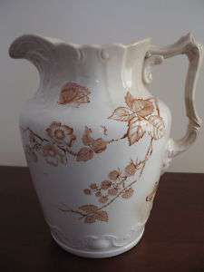 Antique Bona Fama Water Pitcher
