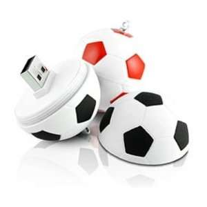 4GB Soccer Ball USB 2.0 Portable Flash Drive Electronics