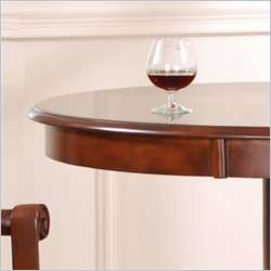 Hillsdale Palm Springs Bar Height Medium Brown Cherry Pub Table