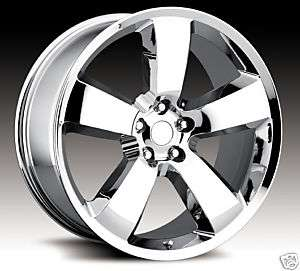 20 20x8 Ford Taurus Flex & Fusion Chrome Wheels Rims