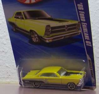 2009 Hot Wheels 1966 Ford Fairlane GT Muscle Mania 10