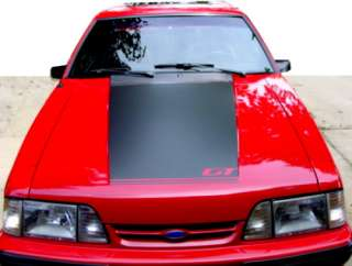 85 86 Mustang GT Hood Stripe Decal 87 93 Fox Body Ford