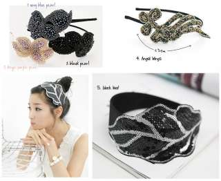 Women Girl Korea Hair Accessories Hairband Fsn