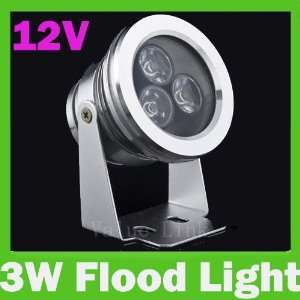 Outdoor 3W High Power LED Waterproof Flood Light Cool White Lighting
