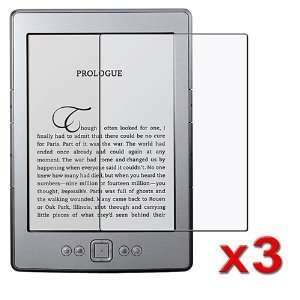 3 Pack Anti Glare Screen Protector Guard for New Kindle