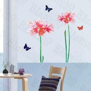 HEMU HL 5808   Garish Flowers   Large Wall Decals Stickers
