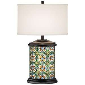 La Gravina Giclee Art Base Table Lamp