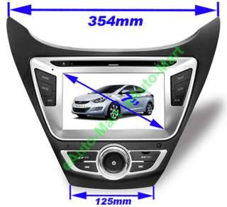HYUNDAI ELANTRA AVANTE I35 2011 2012 GPS Navi Custom Car Radio Media