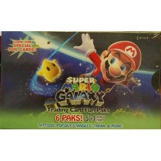 Super Mario Bros. Wii Enterplay Trading Card Fun Pak Box