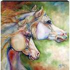 Gentle Spirits MARCIA BALDWIN Horse Canvas Wall Art 15X15 Giftboxed