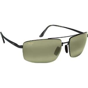 com Maui Jim Sandalwood 217 Sunglasses, Gunmetal/HT Lens, Sunglasses