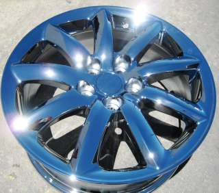NEW 18 FACTORY LEXUS LS460 LS460L CHROME WHEELS RIMS EXCHANGE YOUR