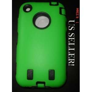 Iphone case cover very strong defender warrior case green