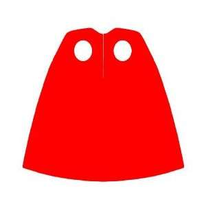 Cape (Red)   LEGO Minifigure Accessory Toys & Games