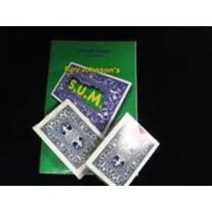 S.U.M. Deck   Close Up / Street / Card Magic Trick Toys & Games