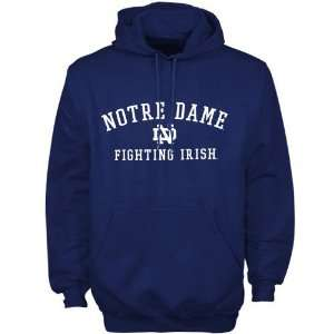 Adidas Notre Dame Fighting Irish Navy Blue Practice Hoody