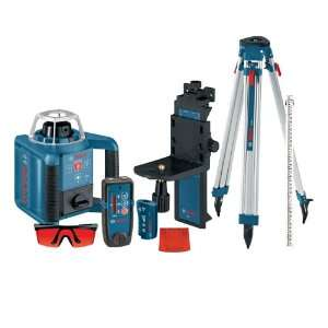 Bosch GRL300HVCK Self Leveling Rotary Laser with Layout Beam Complete