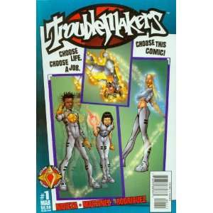 Trouble Makers #1 Books