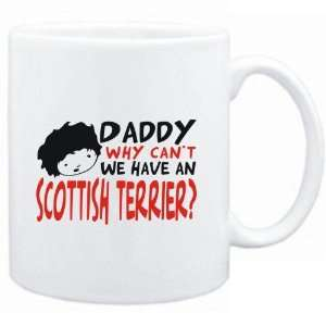 Mug White  BEWARE OF THE Scottish Terrier  Dogs