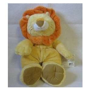 Baby Ganz Squishums Yellow Lion Plush Toy Toys & Games