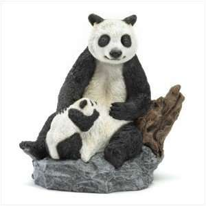 Panda Bear and Cub Figurine   Style 36990
