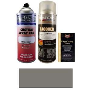 . Dark Silver Metallic Spray Can Paint Kit for 2011 Mini Cooper (871