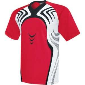High Five Flash Custom Soccer Jerseys SCARLET/WHITE/BLACK