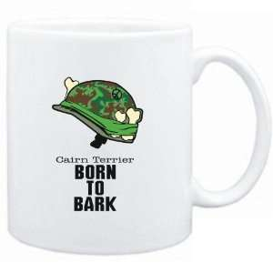 Mug White  Cairn Terrier / BORN TO BARK  Dogs Sports