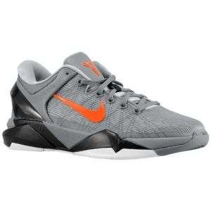 Nike Kobe VII   Mens   Basketball   Shoes   Wolf Grey/Total Orange