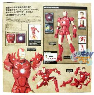 SCI FI Revoltech Marvel Iron Man Mark III Action Figure 036