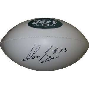 Shonn Greene Autographed/Hand Signed New York Jets Logo