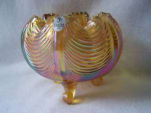 FENTON CARNIVAL GLASS CANDY DISH BOWL