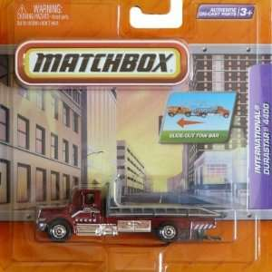 Matchbox Tow Truck International Durastar 4400 Maroon  Toys & Games