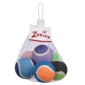 Zanies Tennis Minis Dog Toy, 2 Inch, 6 Pack