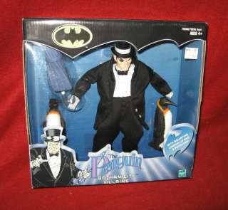 BATMAN Gotham City Villians 9 Poseable PENGUIN w/ Squirting Umbrella