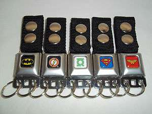 Belt DC Comics Batman Flash Green Lantern Superman Wonder Woman