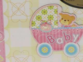 New Girls BABY CARRIAGE Photo Album ~Holds 200 Photos