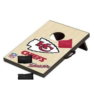 Kansas City Chiefs NFL Mini Bean Bag Toss Game