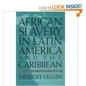 Start reading African Slavery in Latin America and the Caribbean on