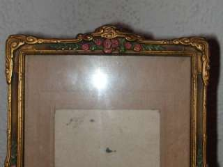 Antique Victorian Art Nouveau Photo Picture Frame
