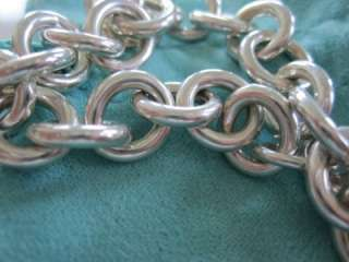 Return To Tiffany & Co. Sterling Silver Heart Tag Bracelet