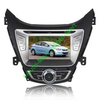 AVANTE I35 2011 2012 GPS Navi Custom Car Radio Media DVD Player